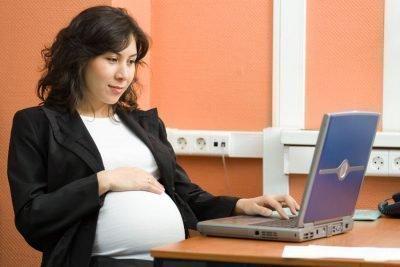 Беременность на работе