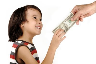 Деньги в детстве