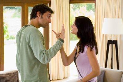 Ссоры с супругом