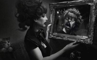Страх отражения в зеркале