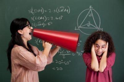 Страх учителя