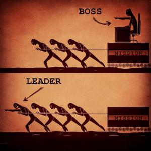 лидер и босс