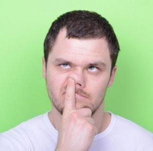 ковыряние в носу