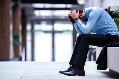 Депрессия из-за работы