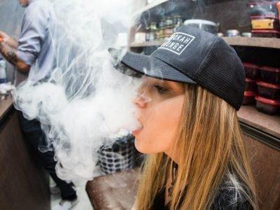 Курение при ангине