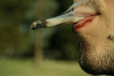 Курение травы