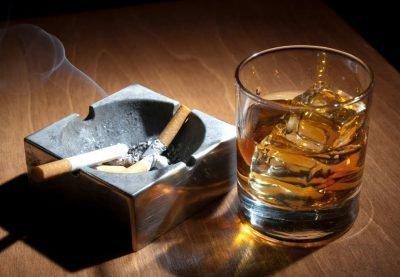 Сигареты с алкоголем