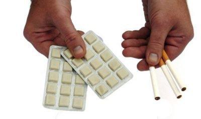 Жевательные резинки с никотином