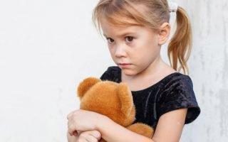 Как проявляется испуг у детей