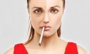 Страдает ли кожа лица от курения