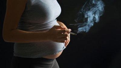 курение во время беременности
