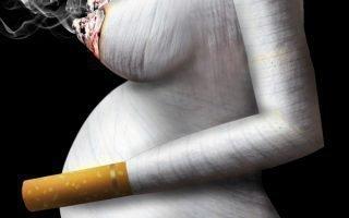 Вся правда о вреде курения во время беременности