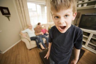 истерика у ребенка