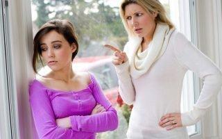 Влияние истерик матери на ребенка